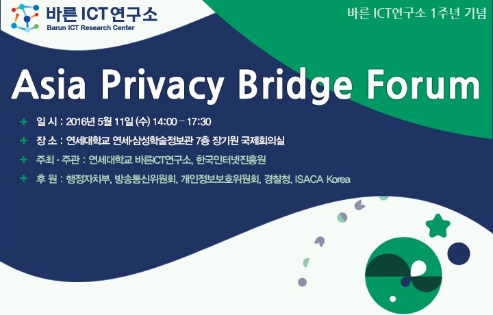 Asia Privacy Bridge Forum 2016