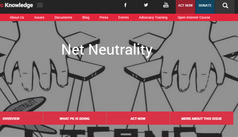 [글로벌 동향] 미국 '망 중립성' 폐지 논쟁 심화: 온라인 시위에 참여하는 거대 IT 기업들