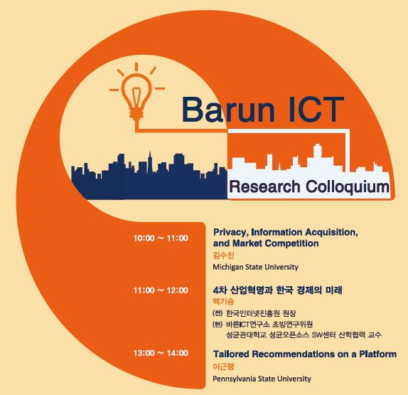 [Research Colloquium] Privacy, Information Acquisition, And Market Competition