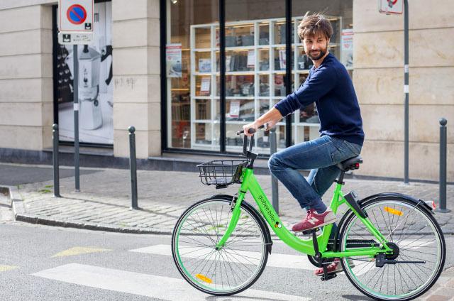 [글로벌 동향] 파리에 등장한 자전거 셰어링