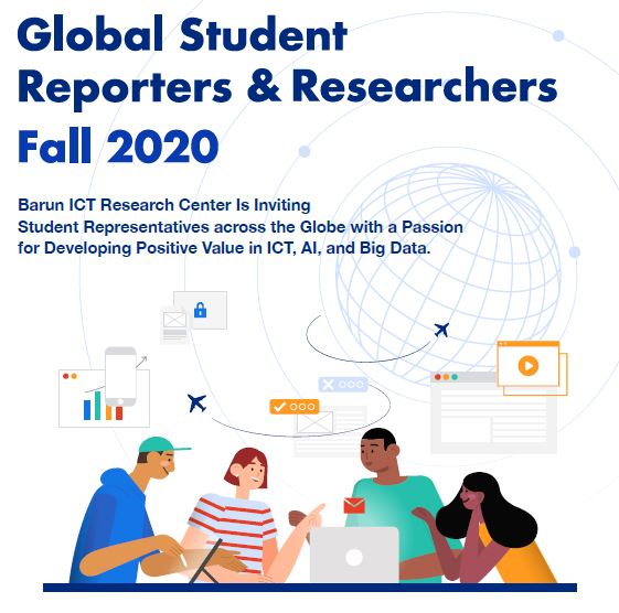 Global Student Reporter Researcher Fall 2020